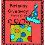 First Grade Friendly Froggies Birthday Giveaway