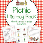 Picnic Literacy Center Activity Pack