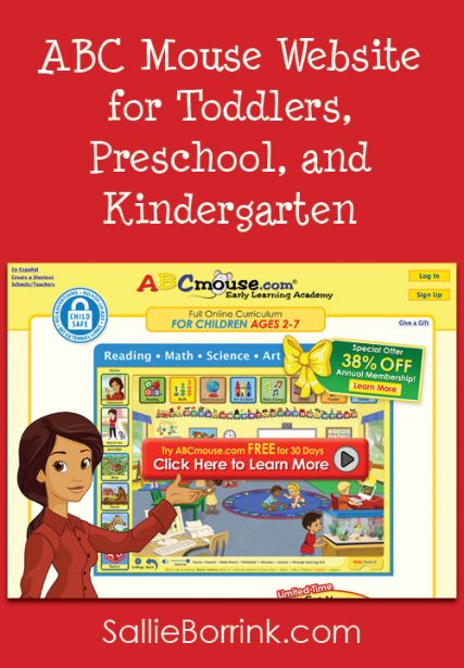 ABC Mouse Website for Toddlers, Preschool, Kindergarten and First Grade