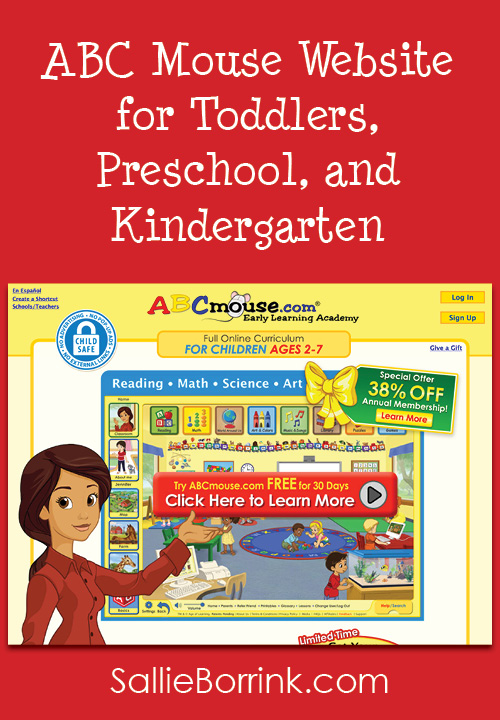 ABC Mouse Website for Toddlers, Preschool, Kindergarten, and