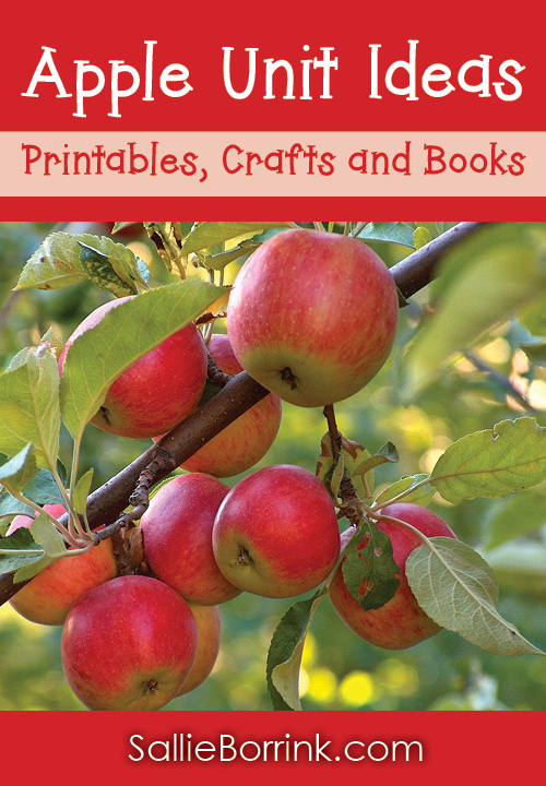 Apple Unit Ideas Printables, Crafts and Books