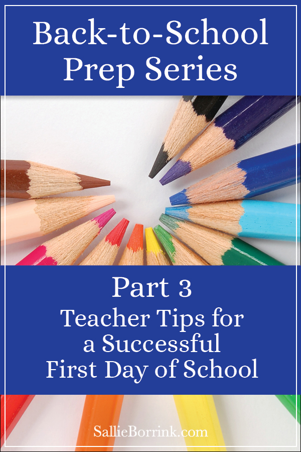 Teacher Tips for a Successful First Day of School