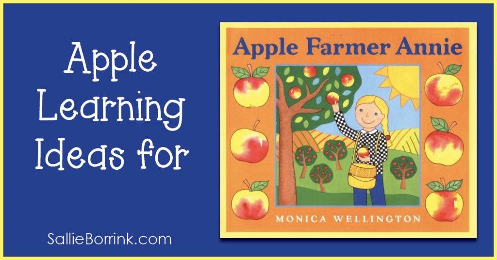 """Fall Apple Lesson Ideas for """"Apple Farmer Annie"""" 2"""