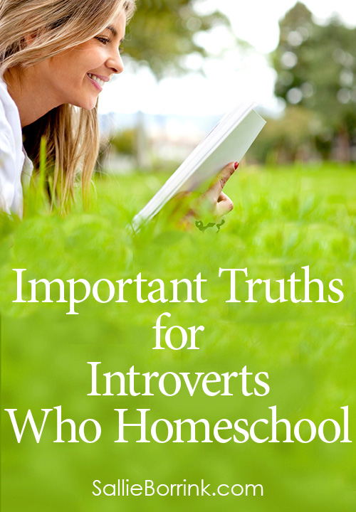 Important Truths for Introverts Who Homeschool