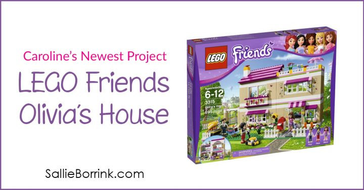 Caroline's newest project – LEGO Friends Olivia's House 2