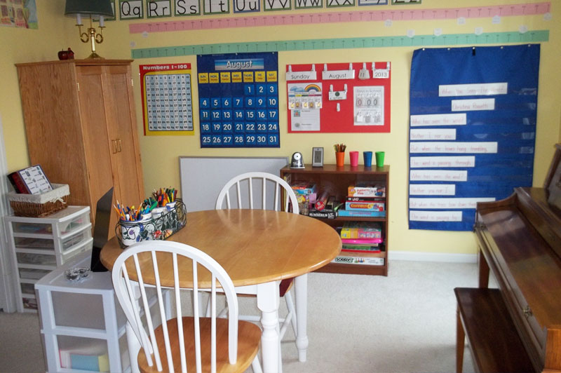 Homeschool Learning Room
