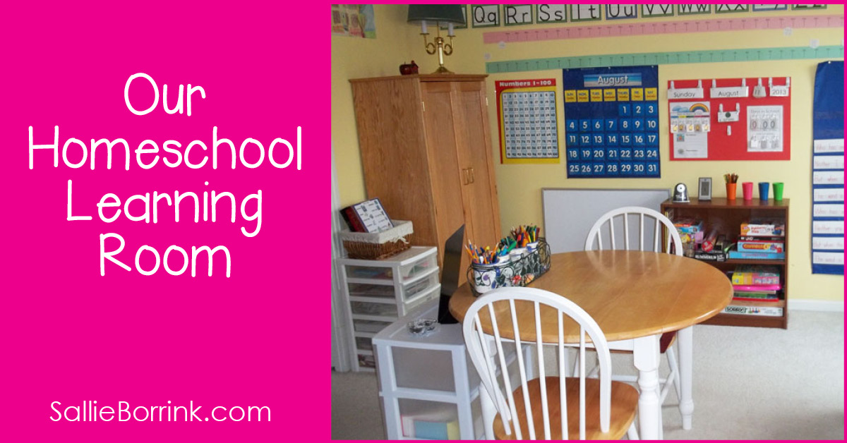 Our Homeschooling Room Pin 2