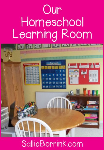Our Homeschool Learning Room 2013-2014