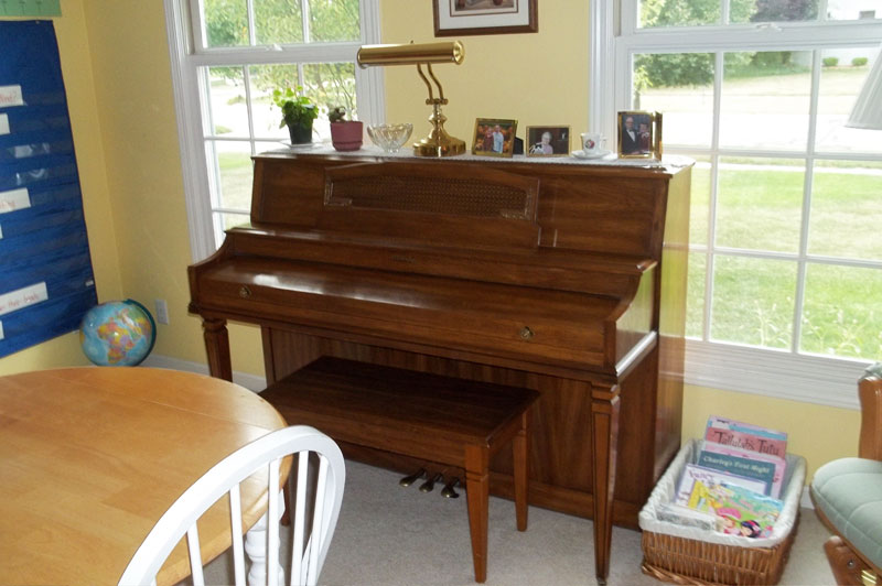 Piano in the Homeschool Room