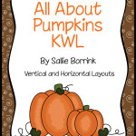Pumpkins KWL Graphic Organizers for Pumpkin Units