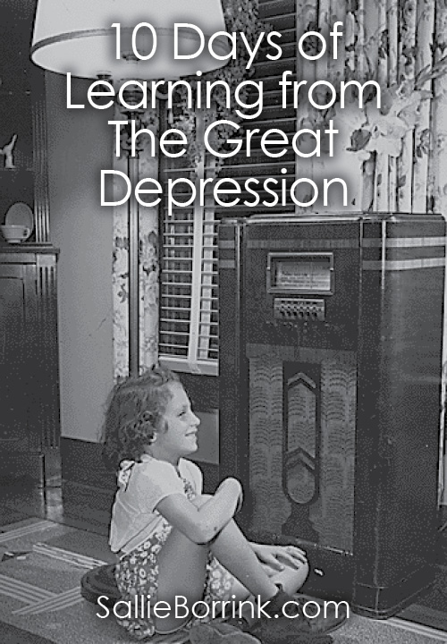 10 Days of Learning from The Great Depression