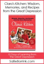 Depression Era Cooking with Clara - Learning from the Great Depression