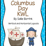 Columbus Day KWL – Two Graphic Organizers for Columbus Day Units
