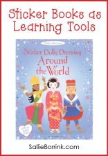 Sticker Dolly Dressing Around the World - Sticker Books as Learning Tools
