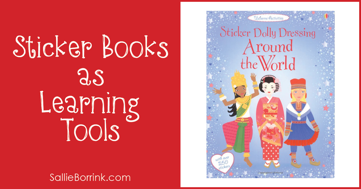 Sticker Books as Learning Tools 2