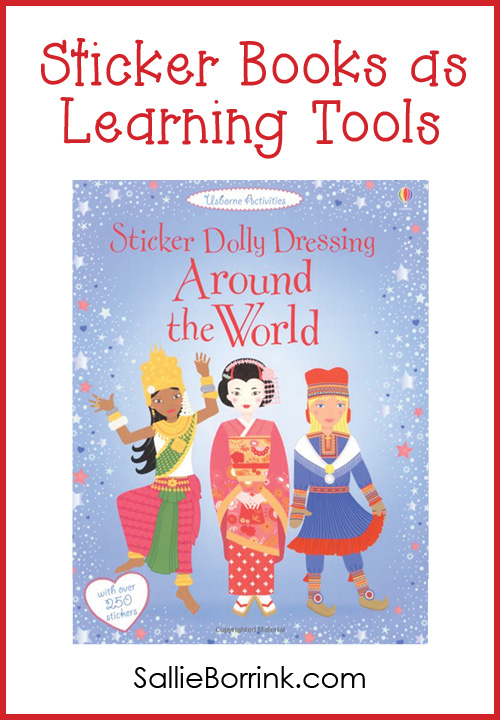 Sticker Books as Learning Tools
