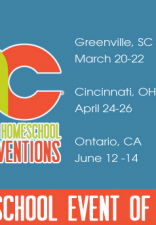 Giveaway: Great Homeschool Convention Family Pass