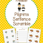 FREE Pilgrims Sentence Scramble Activity – Differentiated for multiple grades