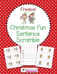 Christmas-Fun-Sentence-ScrambleFREEBIE-111114