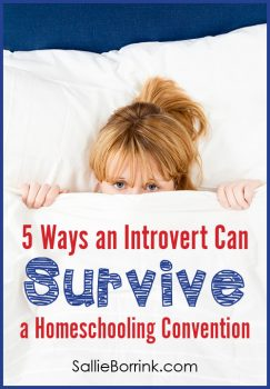 5 Ways an Introvert Can Survive a Homeschool Convention