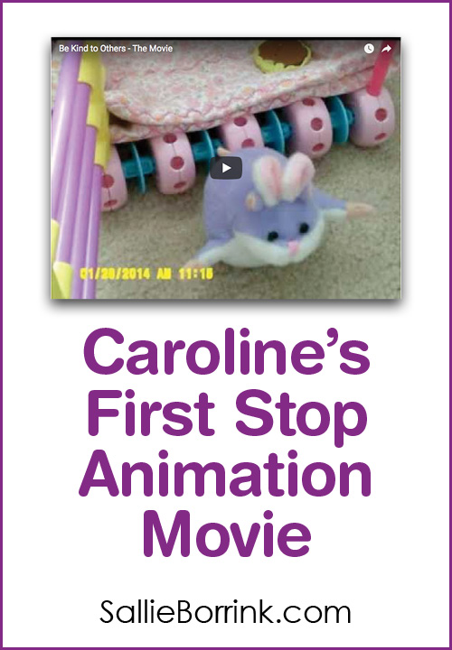 Caroline's First Stop Animation Movie