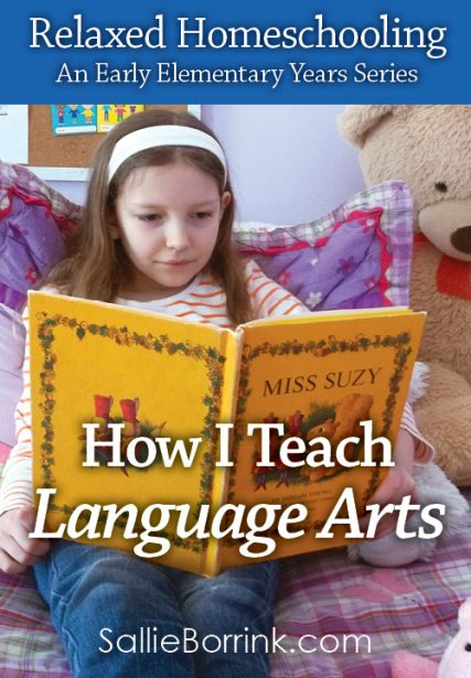 How I Teach Language Arts