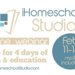 A wonderful way to get recharged from home – iHomeschool Studio webinar