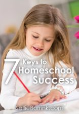 7 Keys to Homeschool Success
