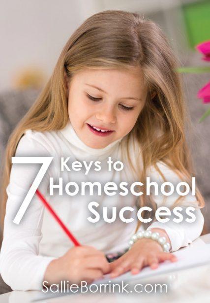 7 Keys to Homeschool Success