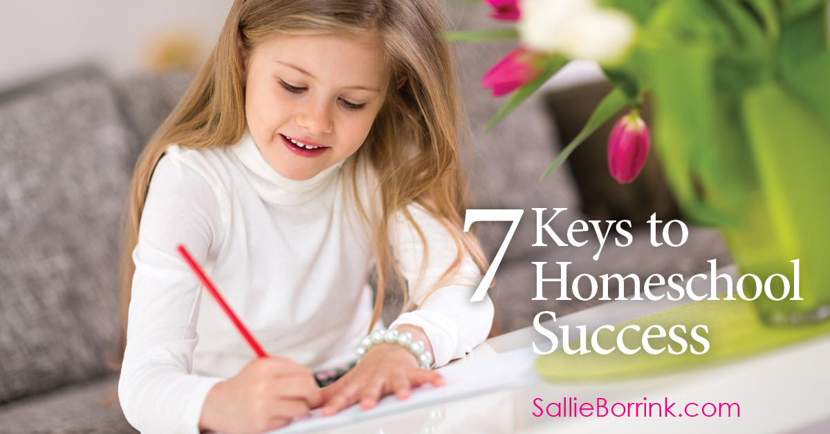 7 Keys to Homeschool Success 2