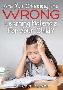 Are You Choosing The Wrong Learning Materials For Your Child