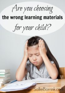 Are you choosing the wrong learming materials for your child