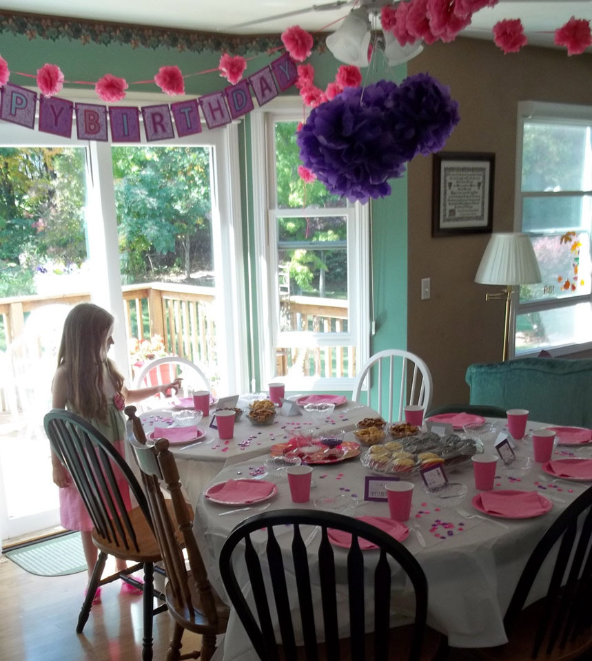 A Fancy Nancy Birthday Party