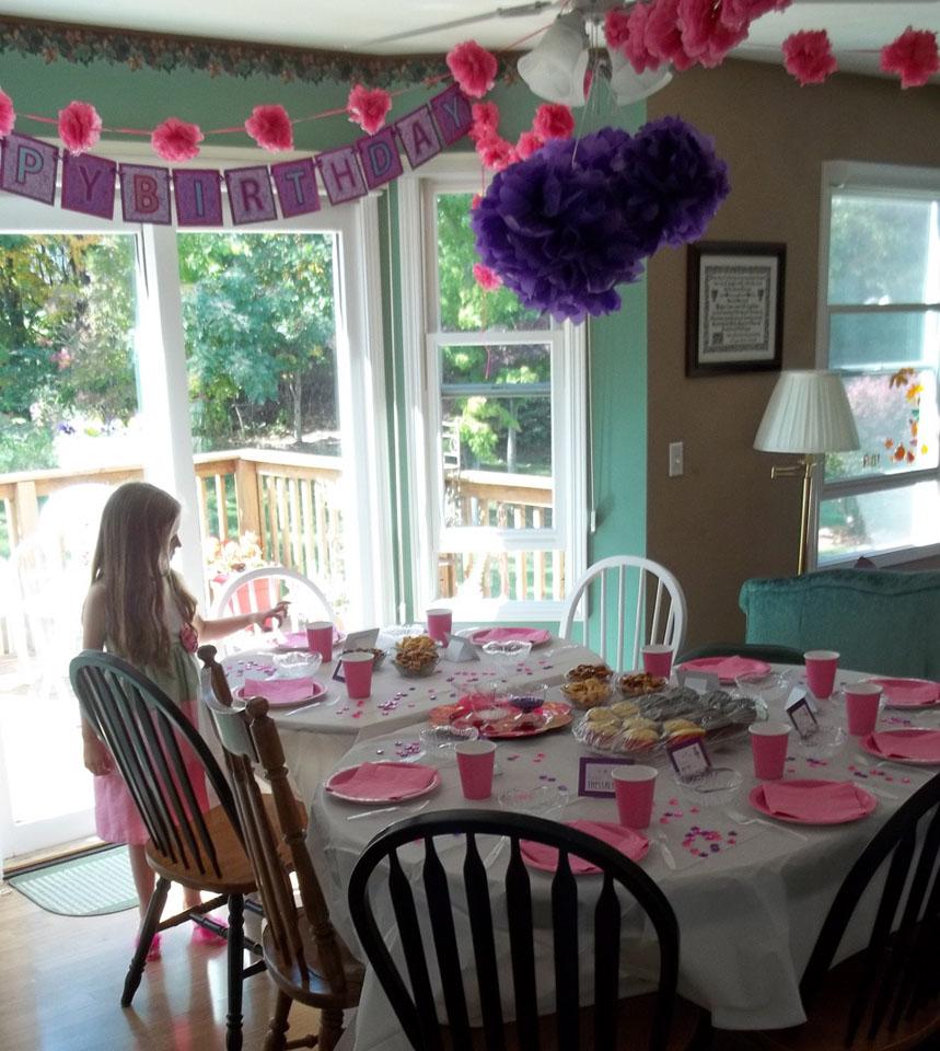 A Fancy Nancy Birthday Party