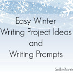 Easy Winter Writing Project Ideas nad Writing Prompts