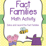 Fact Families Math Activity - 28 Fact Families including Doubles
