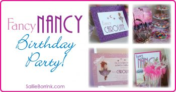 Fancy Nancy Birthday Party Ideas on a Budget