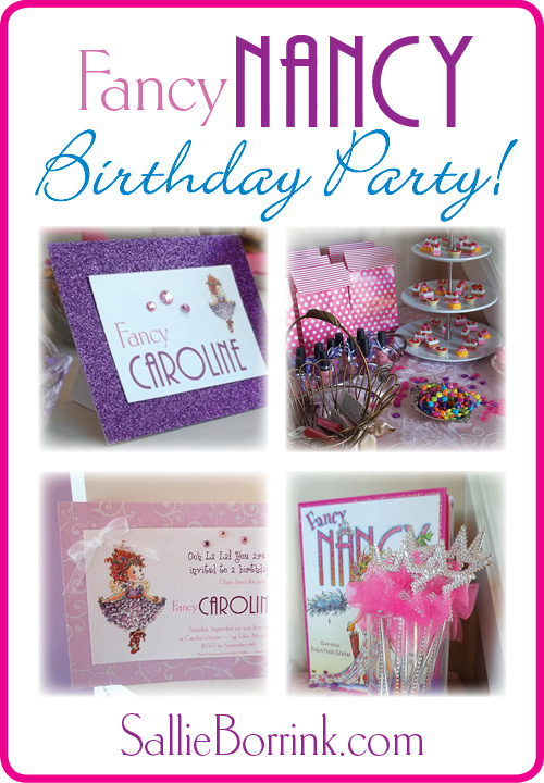 A Fancy Nancy Birthday Party - Planning Ideas on a Budget