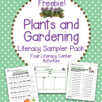 FREE Plants and Gardening Literacy Sampler Pack – Four Center Activities