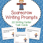 Scarecrow Writing Prompts Task Cards for Fall or Autumn