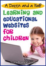 A Dozen and a Half Learning and Educational Websites for Children