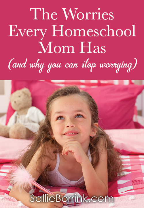 The worries every homeschool mom has (and why you can stop worrying)