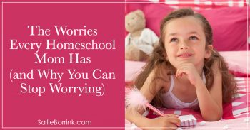 The Worries Every Homeschool Mom Has and Why You Can Stop Worrying 2