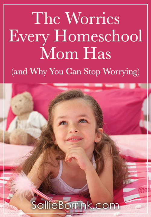 The Worries Every Homeschool Mom Has and Why You Can Stop Worrying