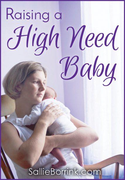 Raising a High Need Baby