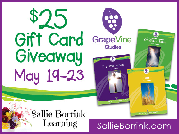 GrapeVine Studies $25 Gift Card Giveaway