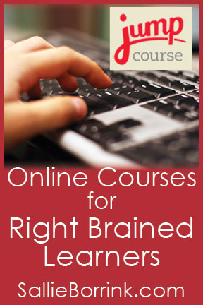 Online Courses for Right Brained Learners with JumpCourse