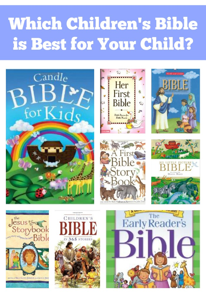 Which Children's Bible is Best for Your Child