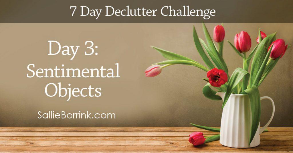 7 Day Declutter Challenge - Day 3w