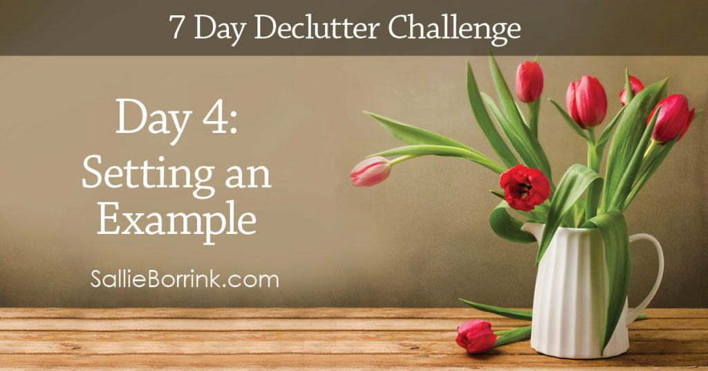 7 Day Declutter Challenge - Day 4w